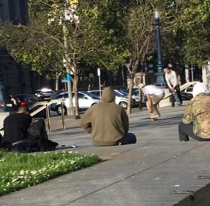 Downtown 6.19 Skateboarders