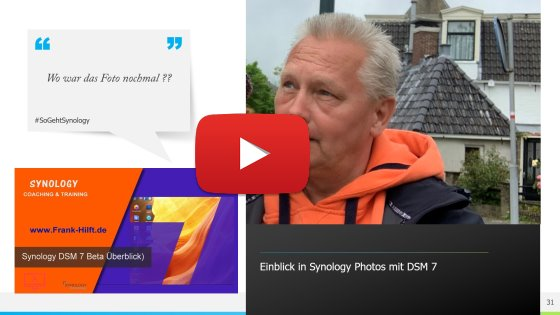 Synology Photos mit DSM7
