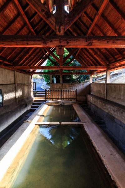 Chaudes-Aigues - Cantal - Lovisolo - Lozère - Lavoir d'eau chaude