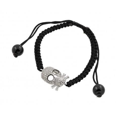wholesale silver multi-color cz bracelet