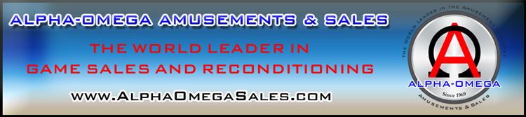 Alpha-Omega Amusements & Sales is Your One Stop Shop for Everything Related to Amusement Games
