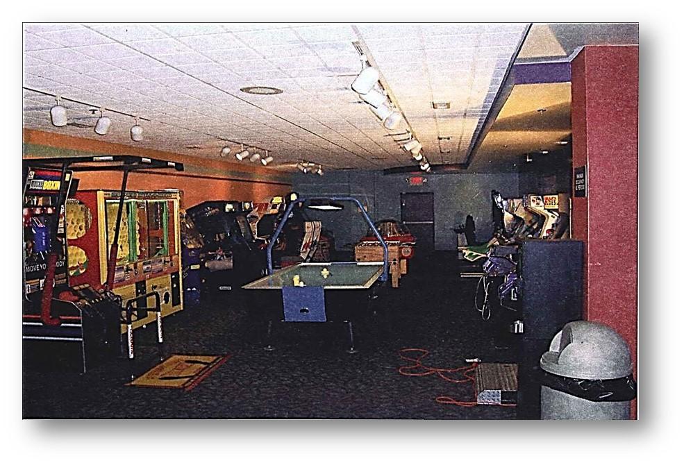 Westgate Lanes arcade game revenue