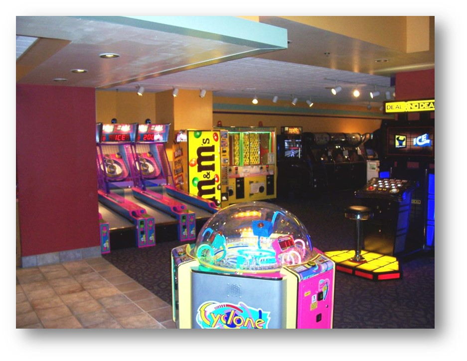Westgate Lanes arcade game revenue