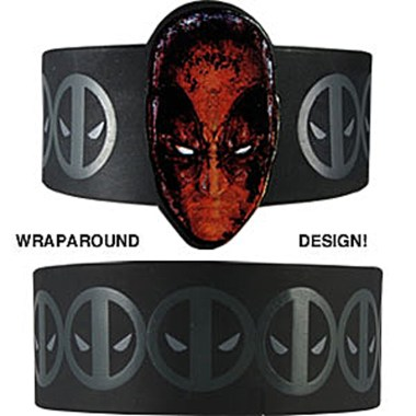 Deadpool Rubber Wristband