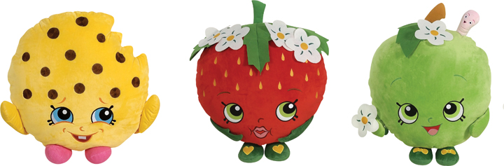 Shopkins Strawberry Apple Kookie