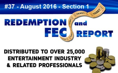Breaking News – The Redemption & Family Entertainment Center Report – August 2016