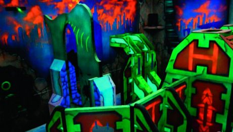 A Creative Works laser tag location