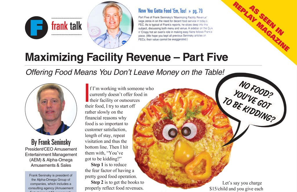 Maximizing Facility Revenue – Part Five
