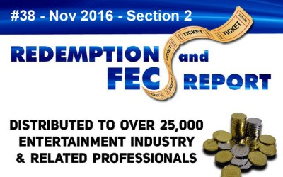 Top 78 Ranked Revenue Generating Games – The Redemption & Family Entertainment Center Report – November 2016