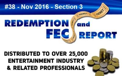Top Redemption & Merchandiser Prizes- The Redemption & Family Entertainment Center Report – November 2016