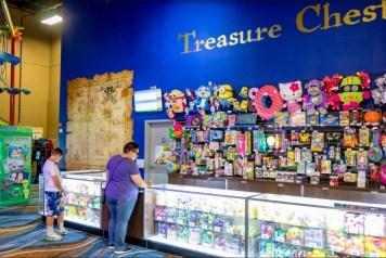 Treasure Chest Redemption Prize Center