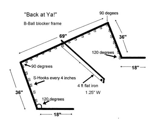 TRR #45 Ask Frank the Crank B-Ball Blocker Frame Drawing 1-4-17