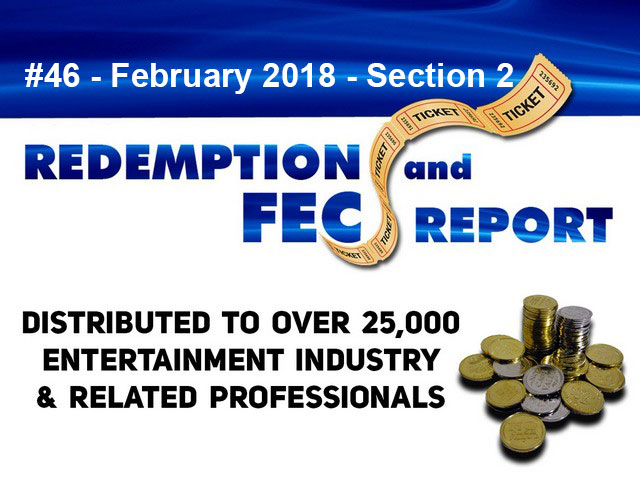 The Redemption & Family Entertainment Center Report – February 2018 Section 2