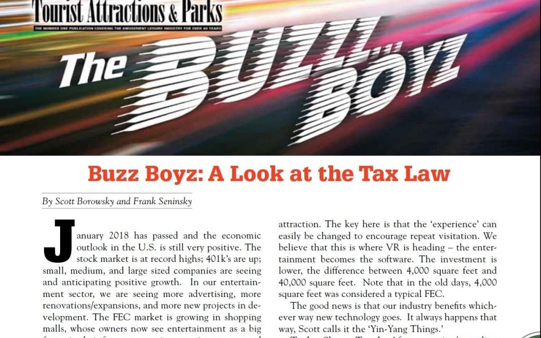 Buzz Boyz: A Look at the Tax Law