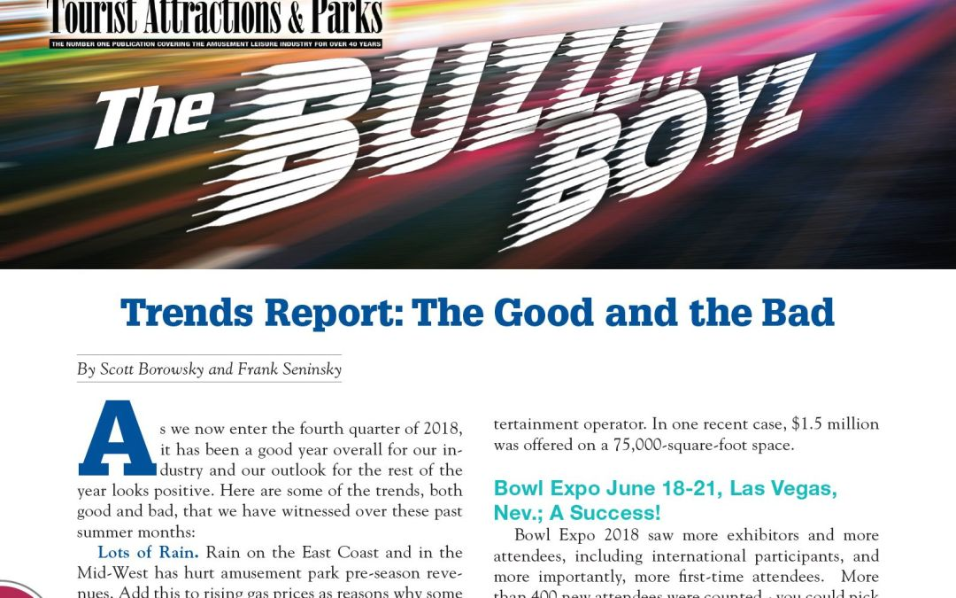 Trends Report: The Good and the Bad
