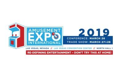 Amusement Expo International AEI 2019 is a must attend – March 26-28 Las Vegas