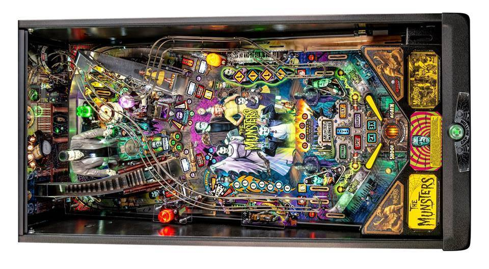 Stern Pinball Showcases The Beatles & The Munsters Pinballs