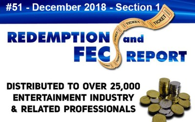 The Redemption & Family Entertainment Center Report – December 2018 Section 1