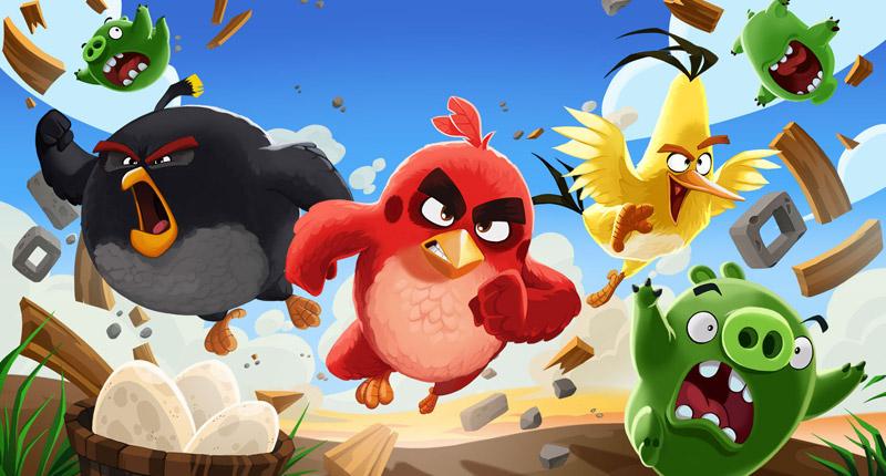 Rovio & Namco UK Plan 'Angry Birds' Adventure Golf