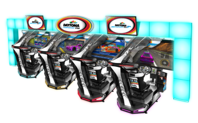 Sega Launches New Daytona Championship USA SDLX at Lucky Strike Social in Chicago