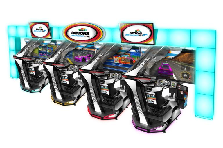 Sega Launches New Daytona Championship USA SDLX at Lucky Strike Social in Chicago