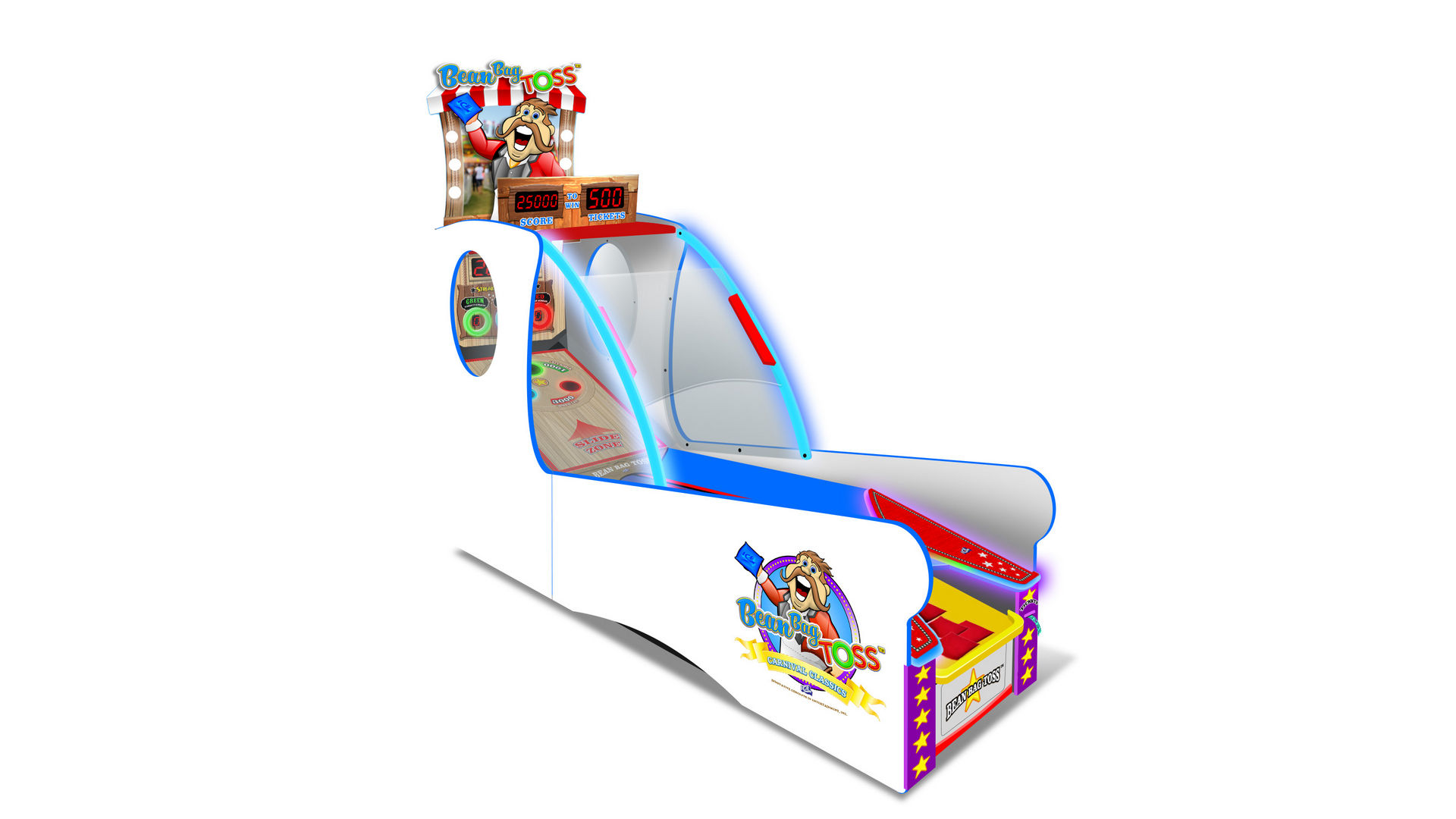 Outstanding Ice Unveils Bean Bag Toss Another Carnival Classic Bralicious Painted Fabric Chair Ideas Braliciousco