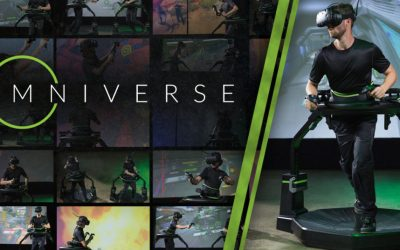 Virtuix's Omniverse VR Hits 1M Plays & Now has 20 Games in its Library