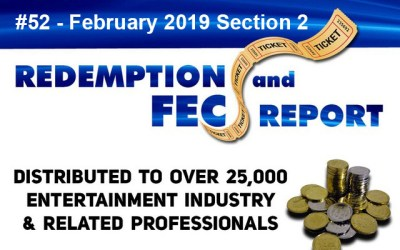 The Redemption & Family Entertainment Center Report – February 2019 Section 2