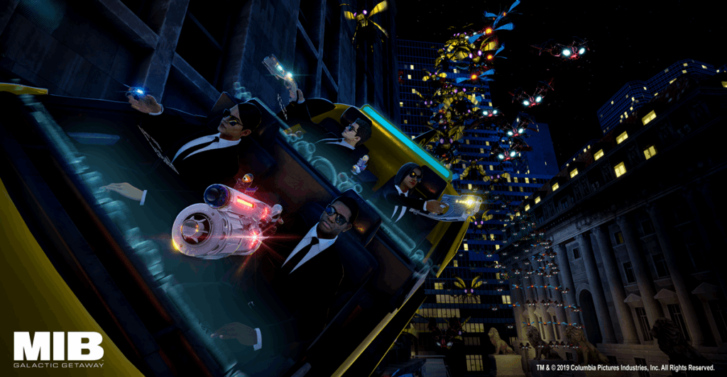 Dave & Buster's has New 'Men in Black Galactic Gateway' VR Content from VRstudios