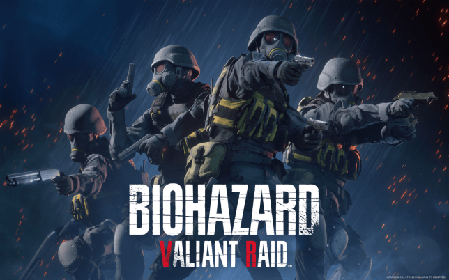 Capcom's 'Valiant Raid' VR 4 Player Resident Evil Series to Debut in Tokyo