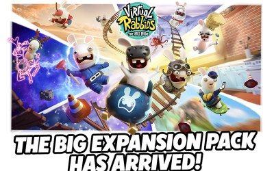 The Big Expansion Pack for Virtual Rabbids (LAI Games) is now available