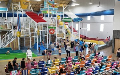 Splash Shack Indoor Waterpark Loves Semnox's Customized RFID Wristband Capacity Management Module