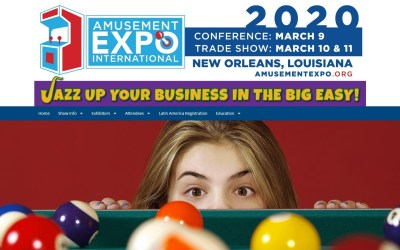 Amusement Expo is March 9-11