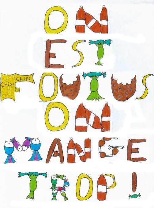 On Est Foutu On Mange Trop : foutu, mange, Foutus,, Mange
