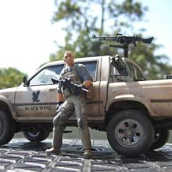 Yellow Club Chair Black Chairs Target Meng 1/35 Pickup (1999-ish Toyota Hilux Or Tacoma)