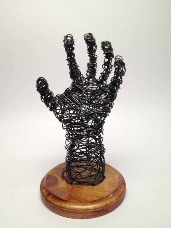 Hand Wire Sculpture