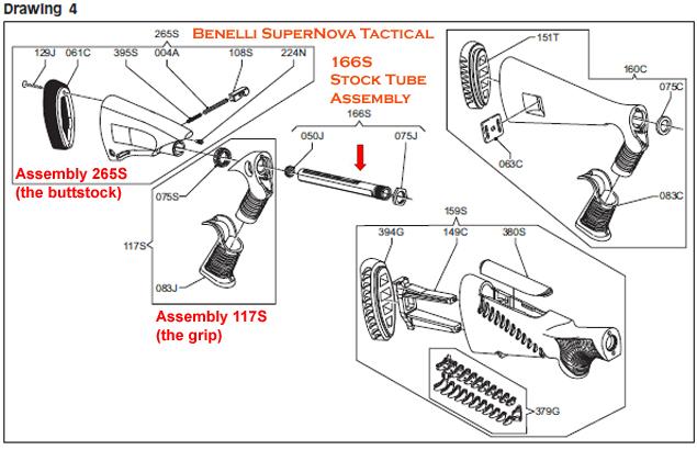 Shotgunworld.com • Benelli M3 with collapsible stock