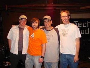Recording session with Derek Frank, Jeff Miley & Larry Williams