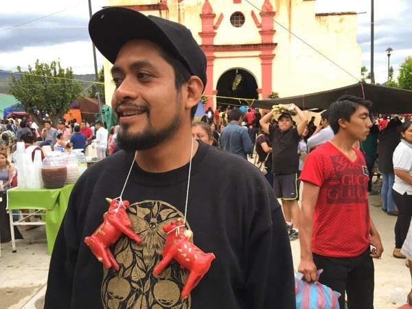Toritos en San Lucas Tlanichico Oaxaca