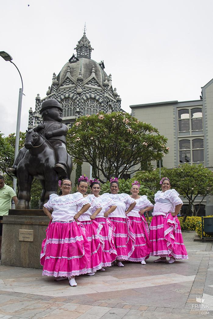 Recorriendo la ciudad de Medellín
