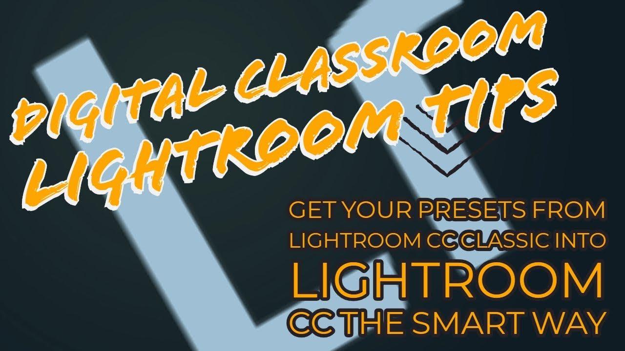 lightroom classic presets