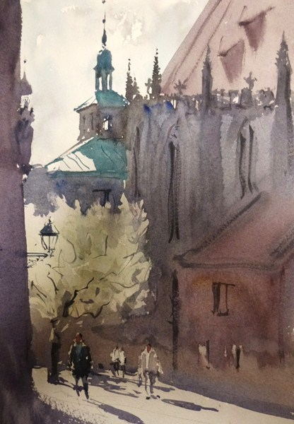 watercolor  FRANK EBER A PAINTERS BLOG