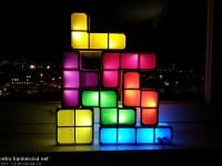 My new Tetris lamp | Frank's retro blog