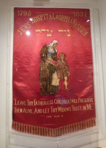Banner at the Jewish Museum