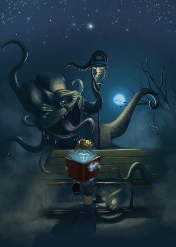 http://t-ry.deviantart.com/art/Reading-the-monster-395926279