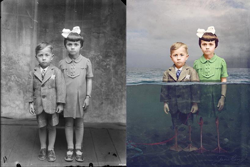 jane-long-immortalizes-vintage-photos-dancing-with-costica-designboom-18