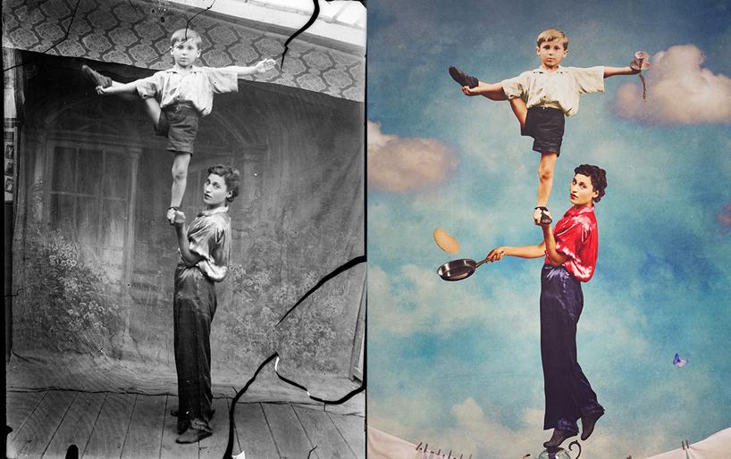 jane-long-immortalizes-vintage-photos-dancing-with-costica-designboom-20