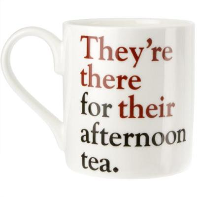 They're there for their afternoon tea mug featured in video