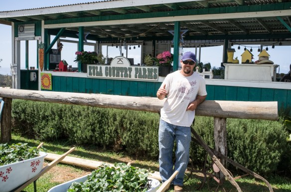 Chauncy Monden, 4th Generation Maui Farmer, Kula Country Farms.