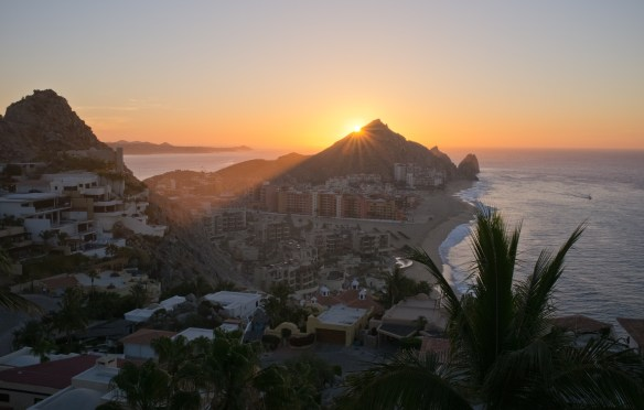 Sunrise at Cabo San Lucas
